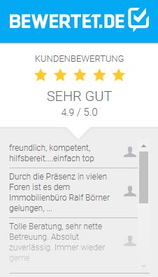 Bewertungen für ralf boerner IMMOBILIEN e.K. bei bewertet.de